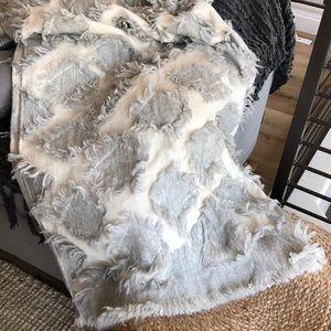 Anthropologie Bedding - Anthropologie Augusta Throw Blanket